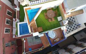 Casa con piscina junto a Catedral