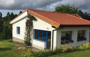 Casa jardín en la villa de Ribadesella